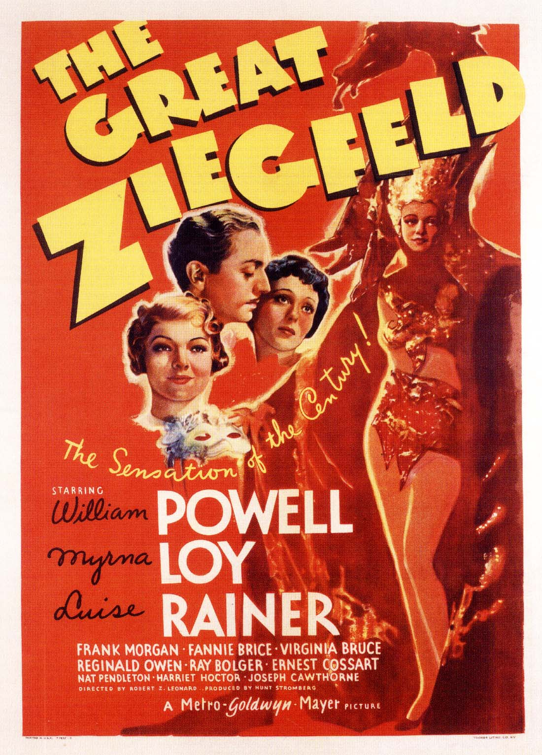 Poster - Great Ziegfeld, The_13