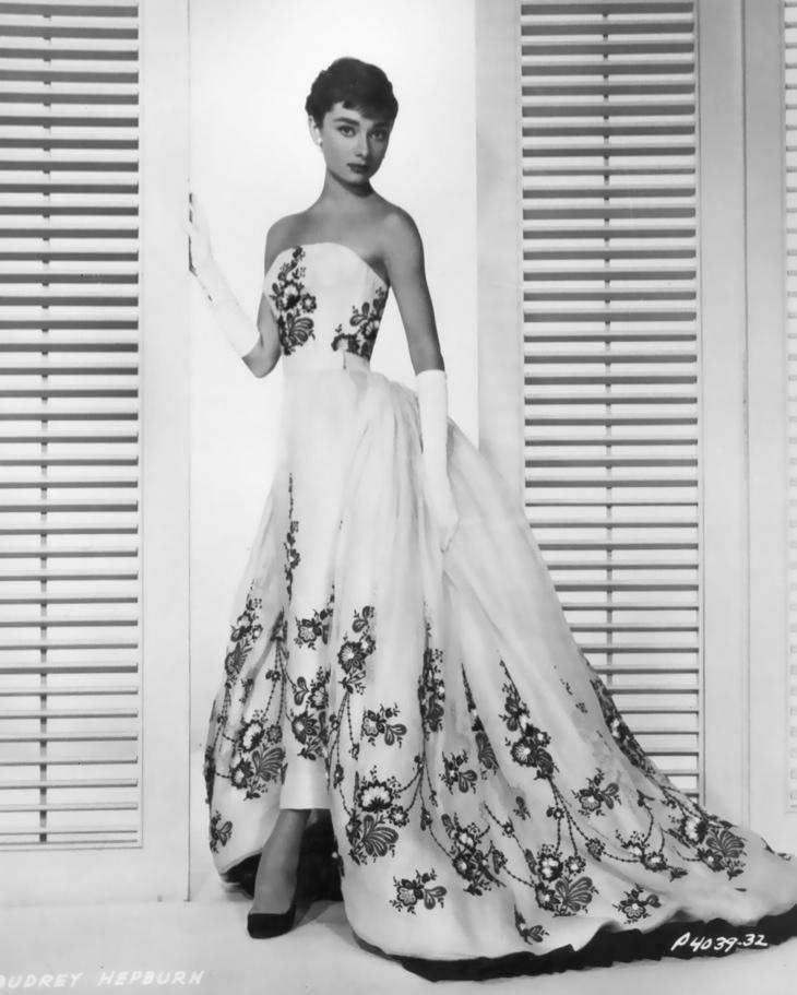 Audrey-Hepburn-Givenchy-Gown-Sabrina