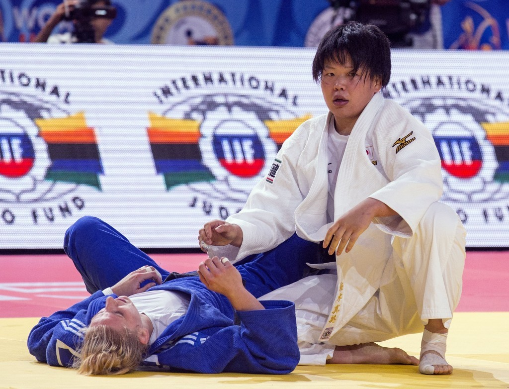 Japan's Mami Umeki triumphed in the gold medal bout