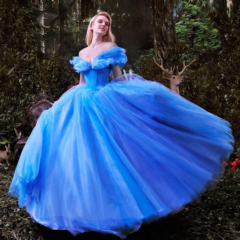 -font-b-2015-b-font-New-movie-font-b-Cinderella-b-font-Princess-font-b