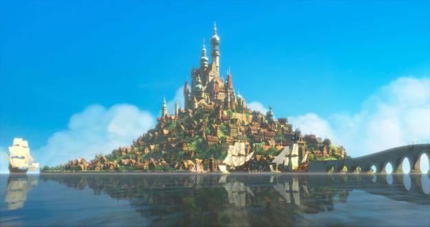 ディズニー 映画 シンデレラ城