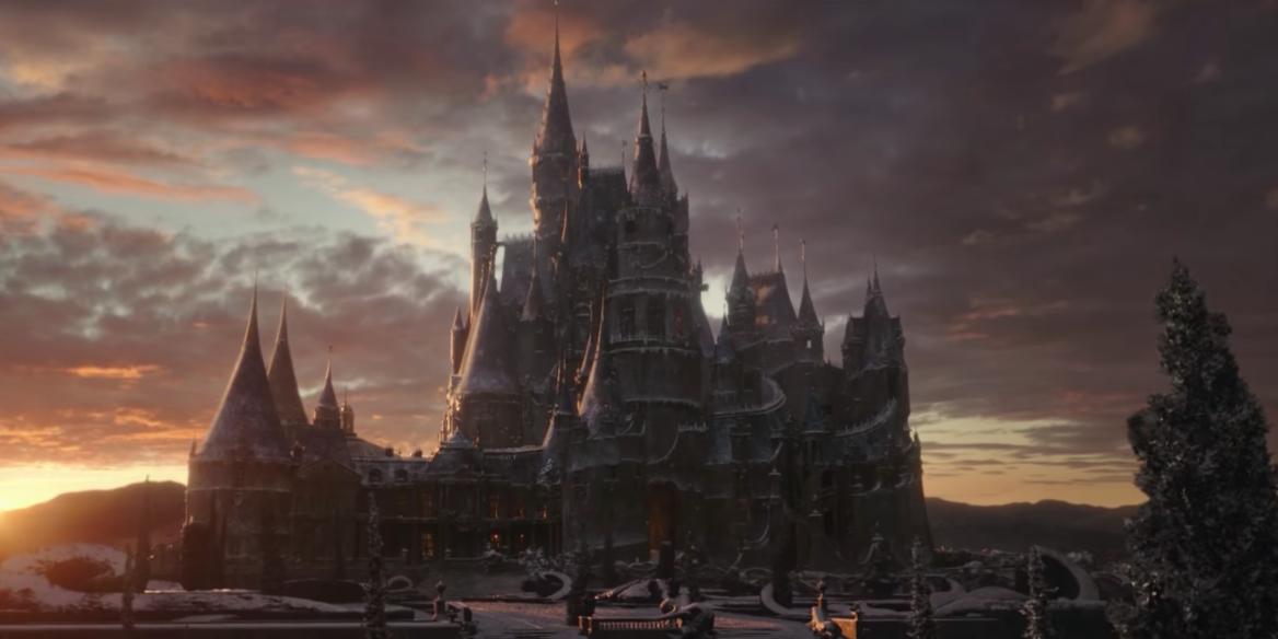 3 魔法によって城に永遠の冬が訪れる