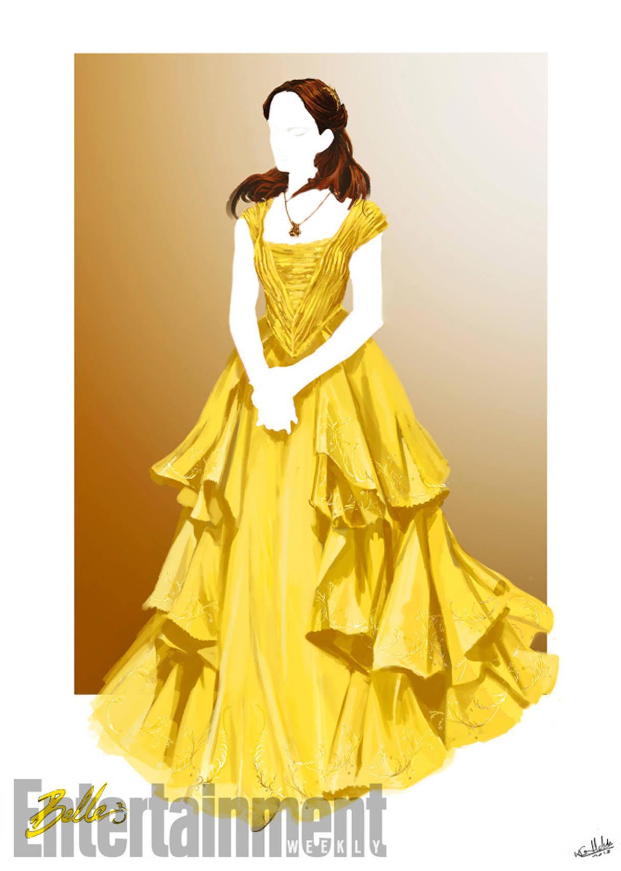 「エマは明確に、大きなデザインのドレスを望まなかったわ。」